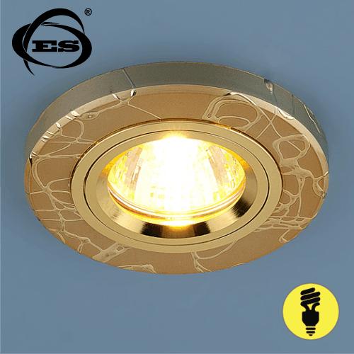 Точечный светильник Elektrostandard 2050 MR16 GD золото