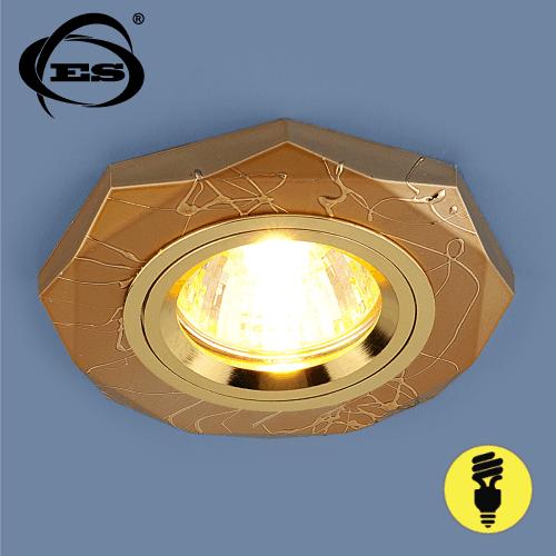 Точечный светильник Elektrostandard 2040 MR16 GD золото