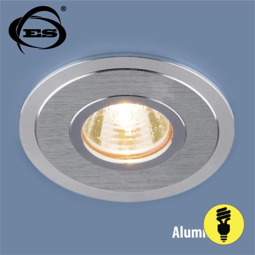 Алюминиевый точечный светильник Elektrostandard 2016 MR16 SCH сатин хром