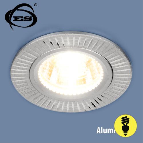 Алюминиевый точечный светильник Elektrostandard 2003 MR16 SL серебро