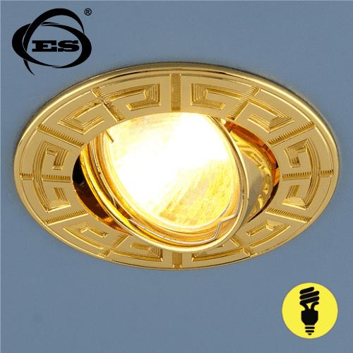 Точечный светильник Elektrostandard 120090 MR16 GD золото