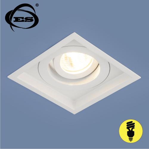 Алюминиевый точечный светильник Elektrostandard 1071/1 MR16 WH белый