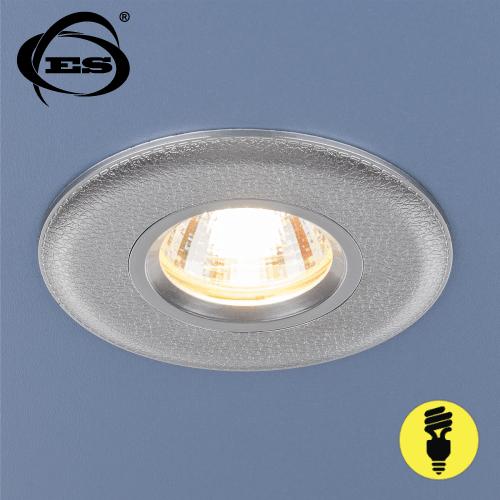 Точечный светильник Elektrostandard 107 MR16 SL серебро