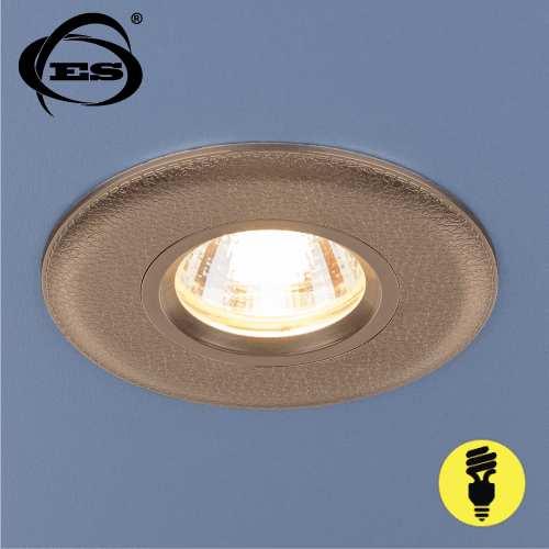 Точечный светильник Elektrostandard 107 MR16 GD золото