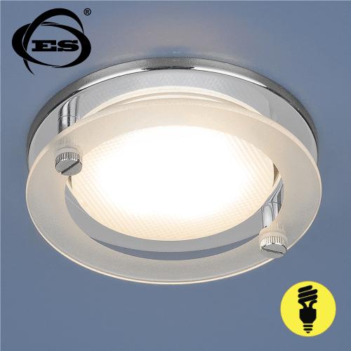 Точечный светильник Elektrostandard 1068 GX53 CH хром