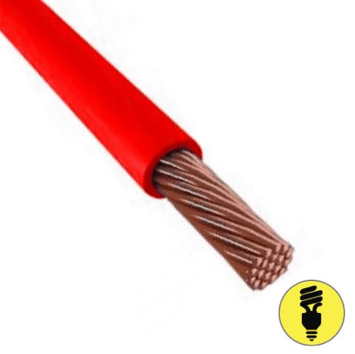 Провод ПВ-3, 1х6 (ПУГВ), гост - красный