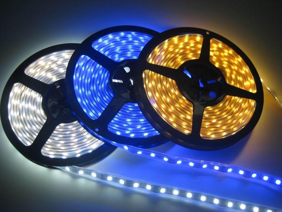 Светодиодные ленты: конструкция и характеристики