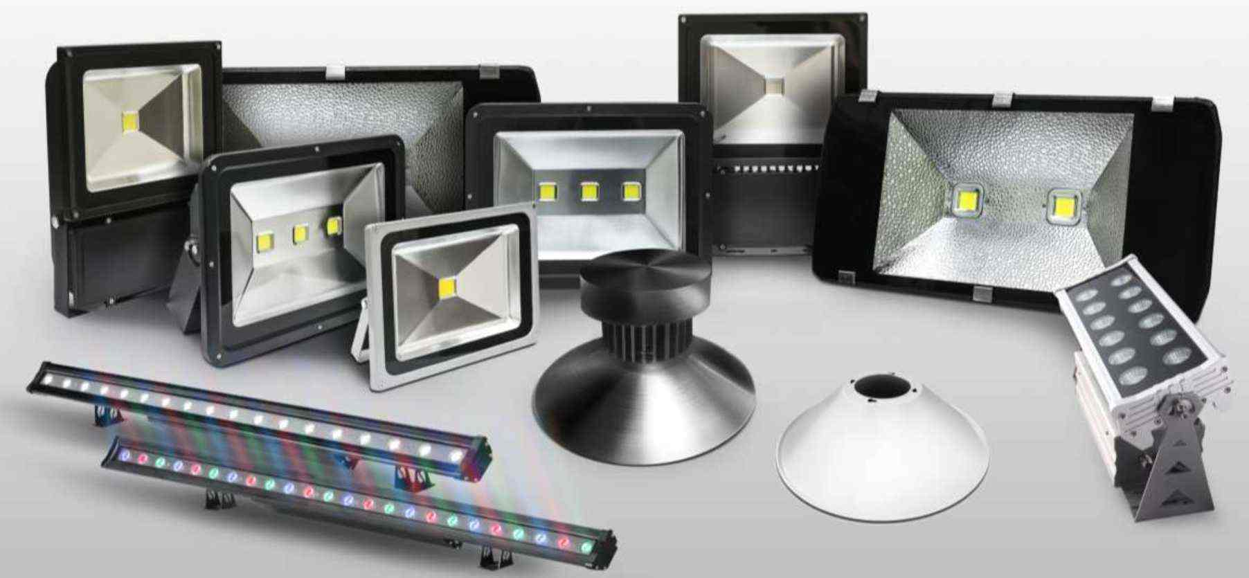 Светодиодные прожекторы. Конструкции, виды и преимущества