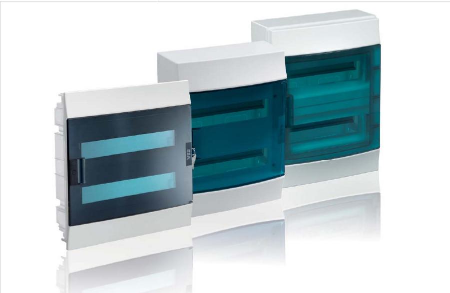 Пластиковые распределительные шкафы ABB Mistral