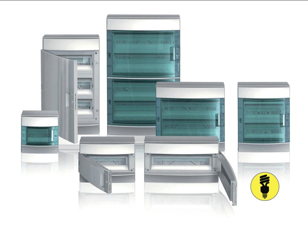 Новые распределительные шкафы серии Mistral IP65