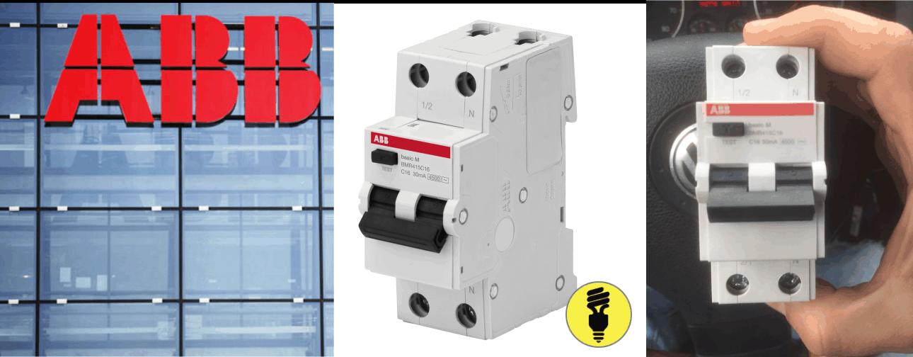 Автоматические выключатели дифференциального тока (АВДТ) Basic M ABB
