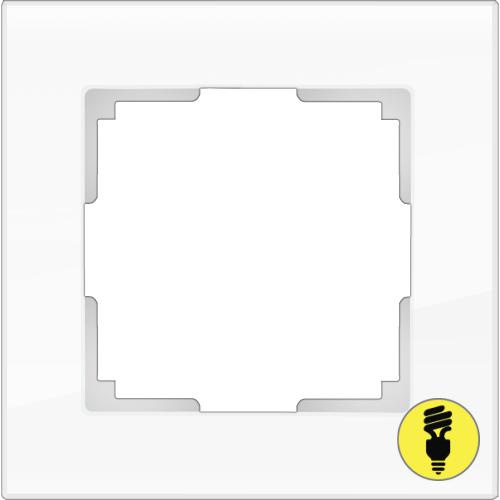 Рамка Werkel Favorit 1 пост - Белый матовый