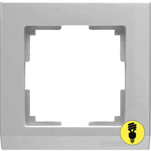 WL04-Frame-01 / Рамка 1-я Werkel Stark, Серебряный
