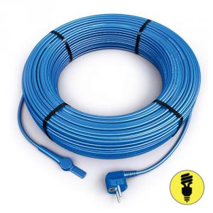 Двужильный кабель Hemstedt FS со встроенным термостатом и вилкой (28 м)