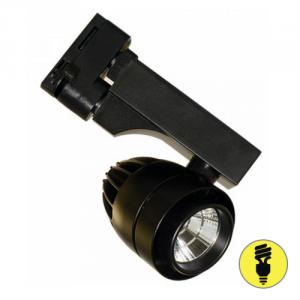 Трековый светодиодный светильник DLP16 15W 4500K BK