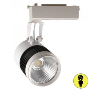 Трековый светодиодный светильник DLP35 30W 4500K WH+BK