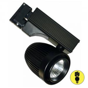 Трековый светодиодный светильник DLP30 30W 4500K BK