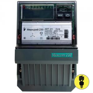 Электросчетчик Меркурий 230 ART-03 PQC(R)SIDN 5-7,5A