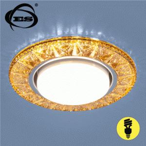 Точечный светильник Elektrostandard со светодиодами 3022 GX53 GD золото