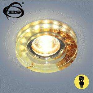 Точечный светильник Elektrostandard со светодиодами 2190 MR16 YL желто-терракотовый