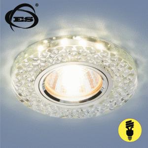 Точечный светильник Elektrostandard со светодиодами 2140 MR16 SL зеркальный/серебро