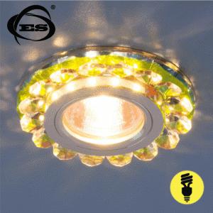 Хрустальный точечный светодиодный светильник Elektrostandard 6036 MR16 MLT мульти
