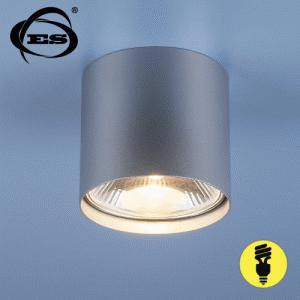 Накладной точечный светильник Elektrostandard 6876 SL серебро Nowodvorski