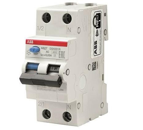Дифференциальные автоматы ABB DSH201R С20А