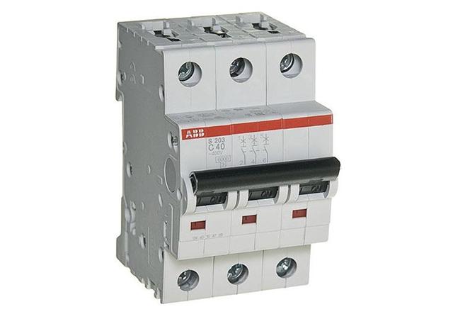 Автоматические выключатели ABB S203 6-63А и S803C