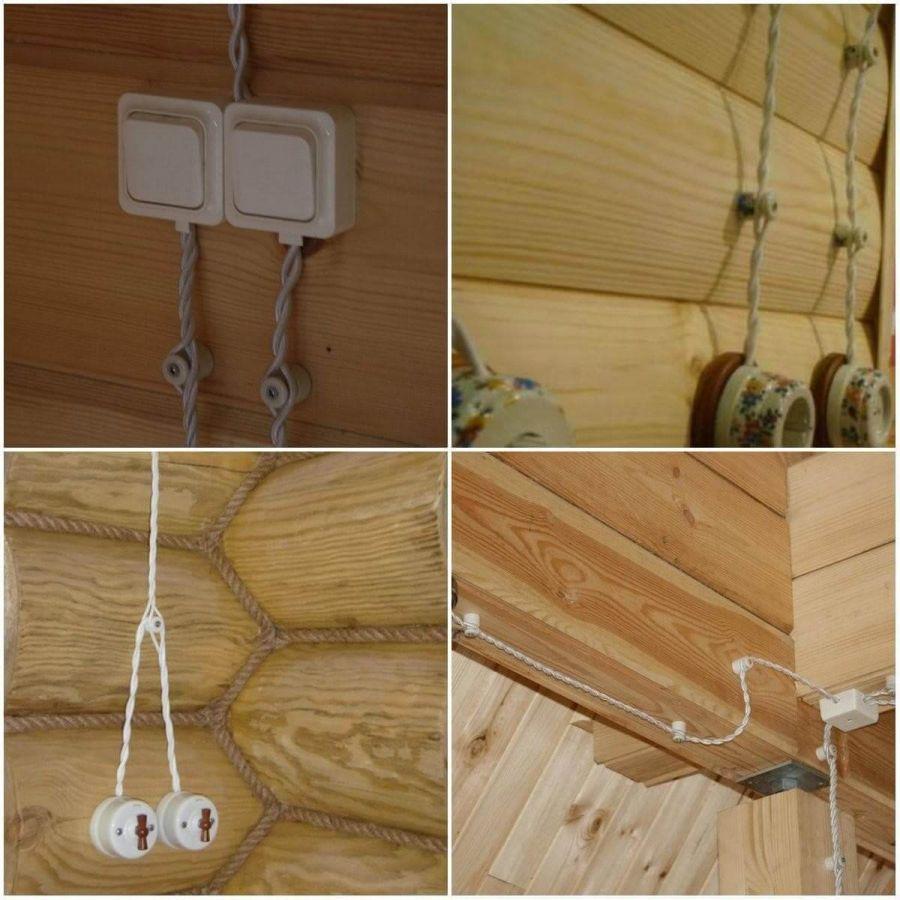 Электропроводка в деревянном доме: базовые правила