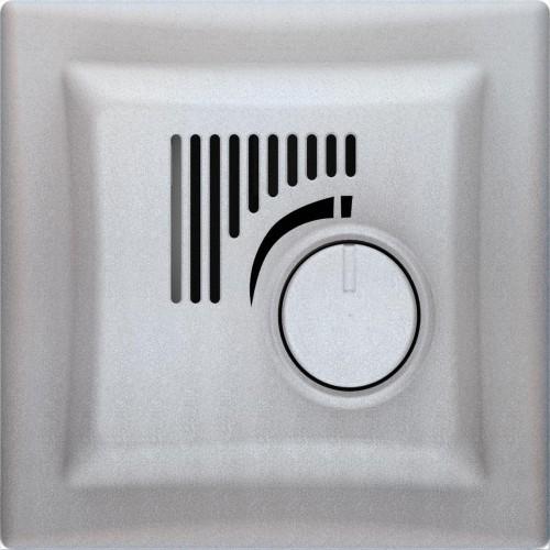Термостат с режимом охлаждения, Алюминий, серия Sedna, Schneider Electric