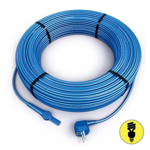 Двужильный кабель Hemstedt FS со встроенным термостатом и вилкой