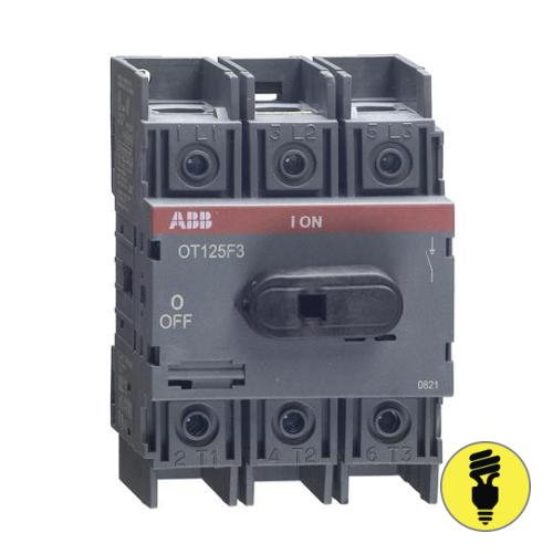 Выключатель нагрузки АВВ OT125F3 125А