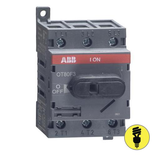 Выключатель нагрузки АВВ OT80F3 80А