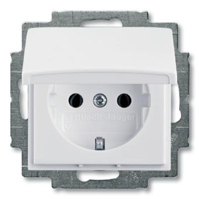 Розетки и выключатели ABB Basic 55 белые