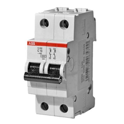 Автоматические выключатели ABB S202 6-63А