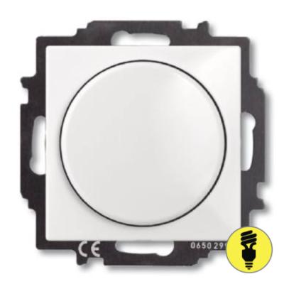 Диммер ABB Basic 55 40-400Вт (белый)