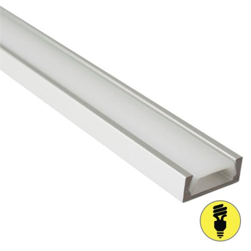 Алюминиевый профиль для светодиодной ленты 6х15х2000