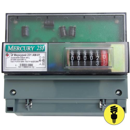Электросчетчик Меркурий 231 АМ-01 5-60А
