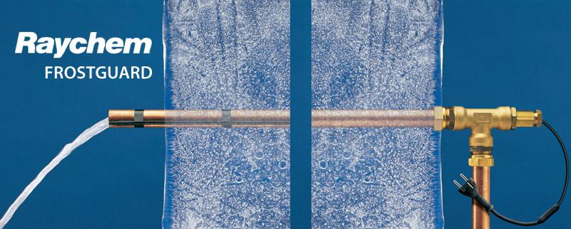 Комплект для обогрева труб Raychem FrostGuard