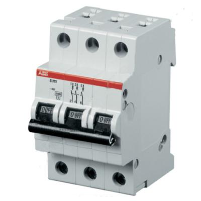 Автоматические выключатели ABB S203 6-63А