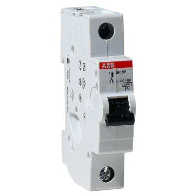Автоматические выключатели ABB SH201 6-63A