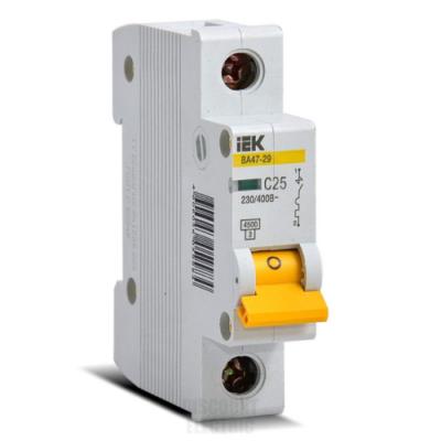 Автоматические выключатели IEK 1-полюсные