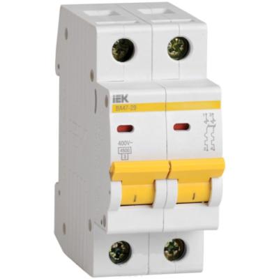 Автоматические выключатели IEK 2-полюсные