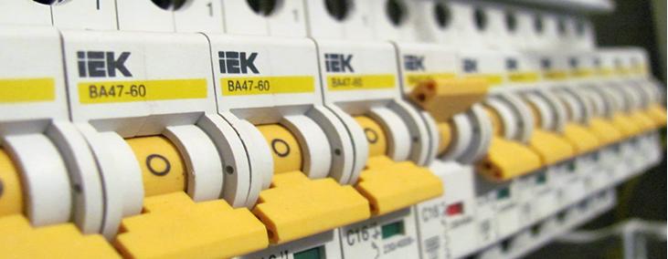 Отечественные автоматические выключатели IEK 1-полюсные