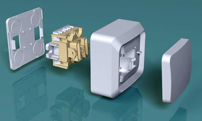 Розетки и выключатели от Schneider Electric Этюд белые
