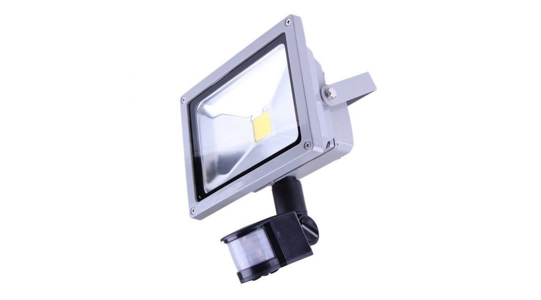 Как работает светодиодный прожектор с датчиком движения?