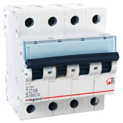 Автоматические выключатели Legrand 4 полюса