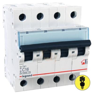 Автоматический выключатель Legrand TX3 4P