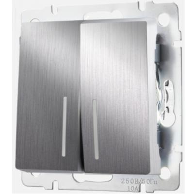 Механизмы Werkel серебряный рифленый